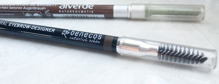 Eyebrow Pencils – Alverde vs Benecos