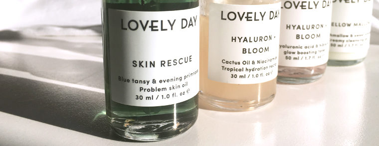 Lovely Day Botanicals Review + Intro to Hyaluronic Acid